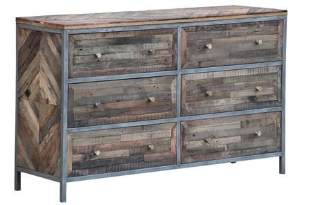 Herringbone 6 Drawer Dresser - Main