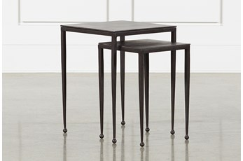 Iron Nesting Accent Tables