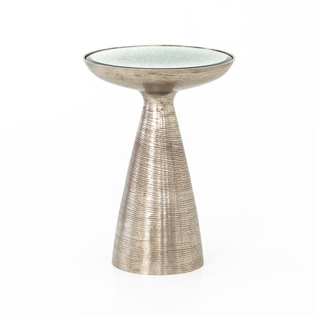Marlow Pedestal Accent Table