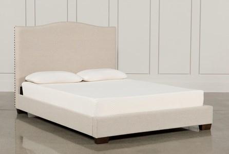 Kiera Eastern King Upholstered Panel Bed