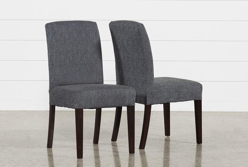 Garten Storm Dining Side Chairs W/Espresso Finish Set Of 2