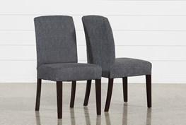 Garten Storm Chairs W/Espresso Finish Set Of 2