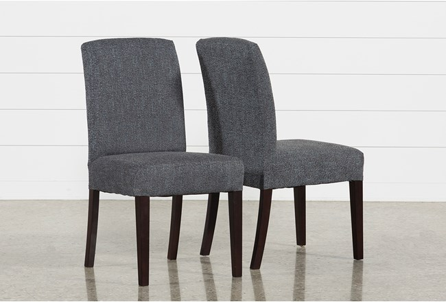 Garten Storm Dining Side Chairs W/Espresso Finish Set Of 2 - 360