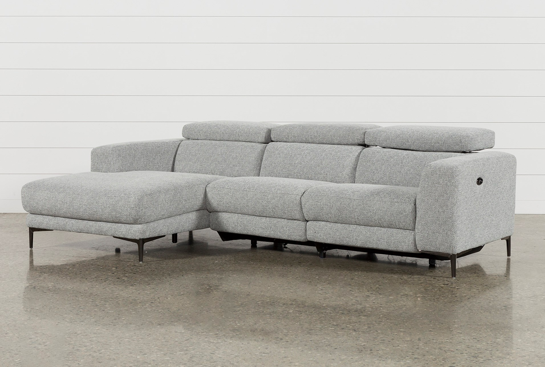 Maddie Grey 2 Piece Sectional With Laf Chaise | Living Spaces