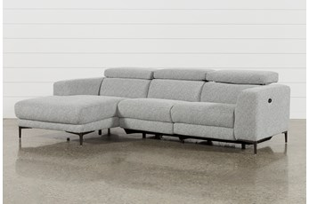 Maddie Grey 2 Piece Sectional With Left Arm Facing Chaise