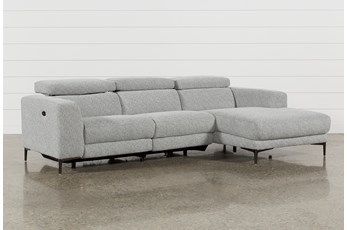 Maddie Grey 2 Piece Sectional With Right Arm Facing Chaise