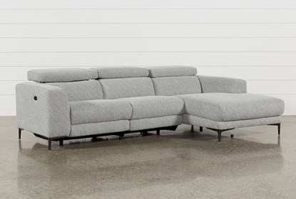 Mad Grey 2 Piece Sectional With Right Arm Facing Chaise