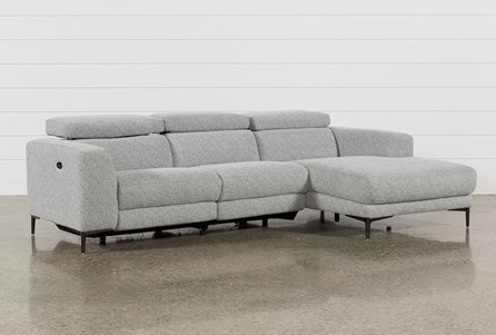Maddie Grey 2 Piece Sectional With Right Facing Chaise