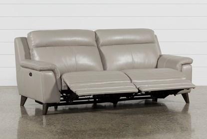 Moana Taupe Leather Dual