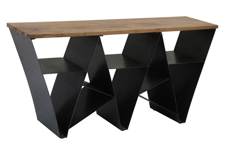 Scattered Geo Console Table