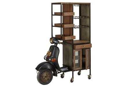 Mo-Ped Wine Cabinet
