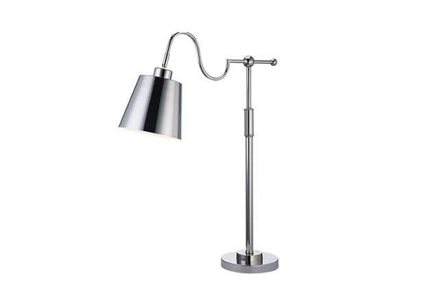 Table Lamp-All Over Chrome - 360