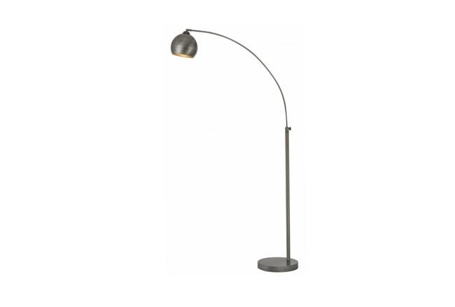 Floor Lamp-Gunmetal Arc - 360