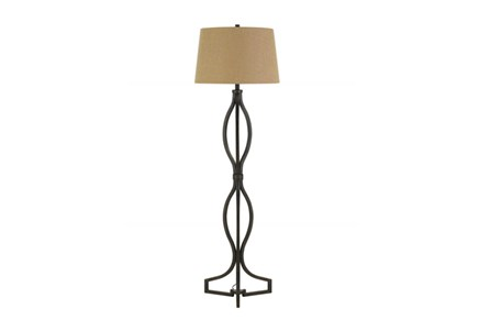 Floor Lamp-Quatrefoil
