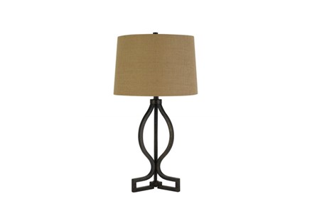 Table Lamp-Quatrefoil