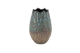 10 Inch Antique Ceramic Vase