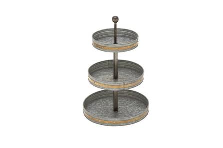 3 Tier Galvanized Tray