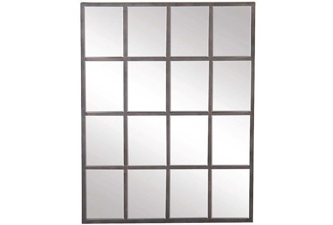 Wall Mirror-Square Grid - 360