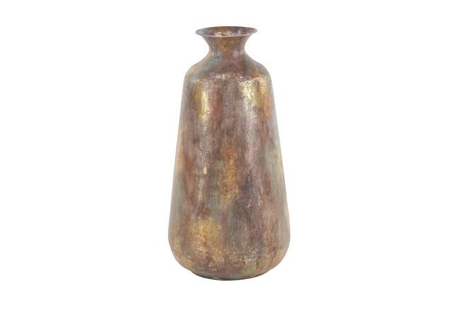 22 Inch Burnished Gold Vase - 360