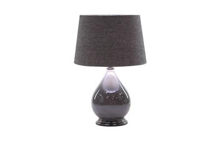 Table Lamp-Glass Tonal Grey