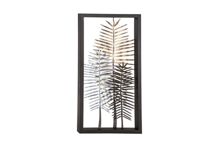 Youth-Feather Metal Wall Decor