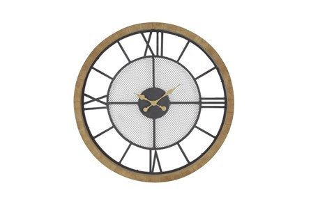 Roman Numeral Wall Clock - Main