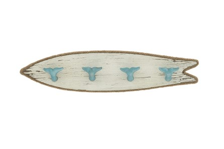 Youth-Surfboard Whale Tail Wall Hooks - Main