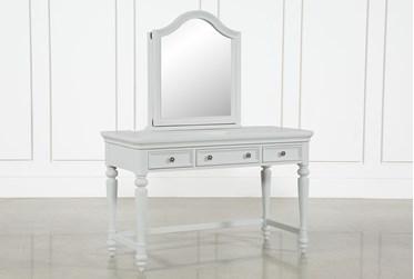 Julia Desk/Vanity Mirror