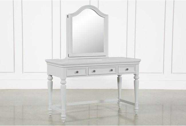 Julia Desk/Vanity Mirror - 360