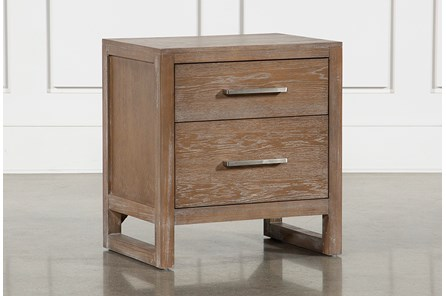 Kevin 2 Drawer Nightstand With USB - Main