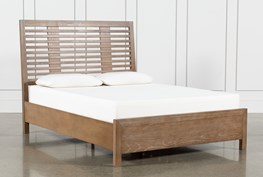 Kevin California King Panel Bed