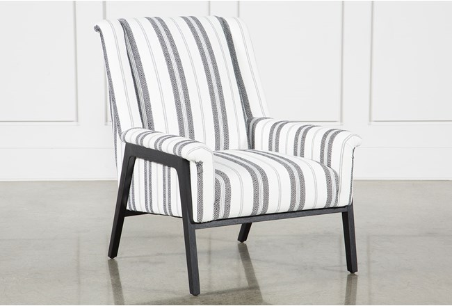 Patterned Ansel Accent Chair - 360