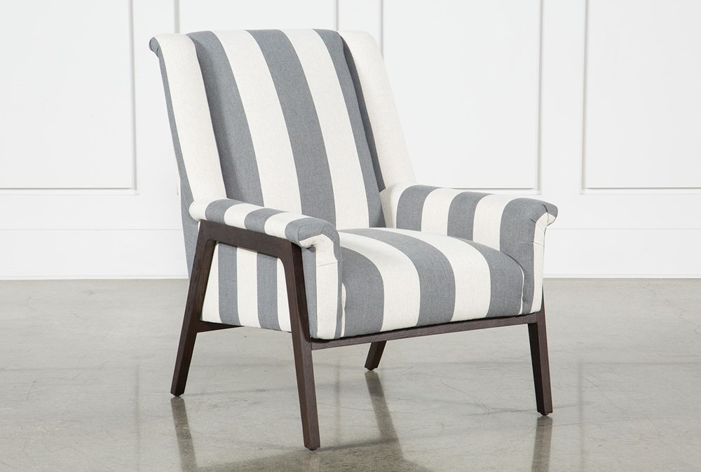 Striped Ansel Accent Chair