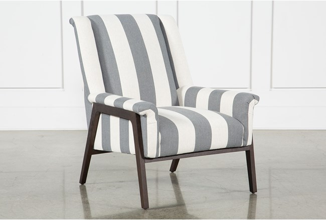 Striped Ansel Accent Chair - 360