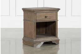 "Chapman 1 Drawer 28"" Nightstand With USB"