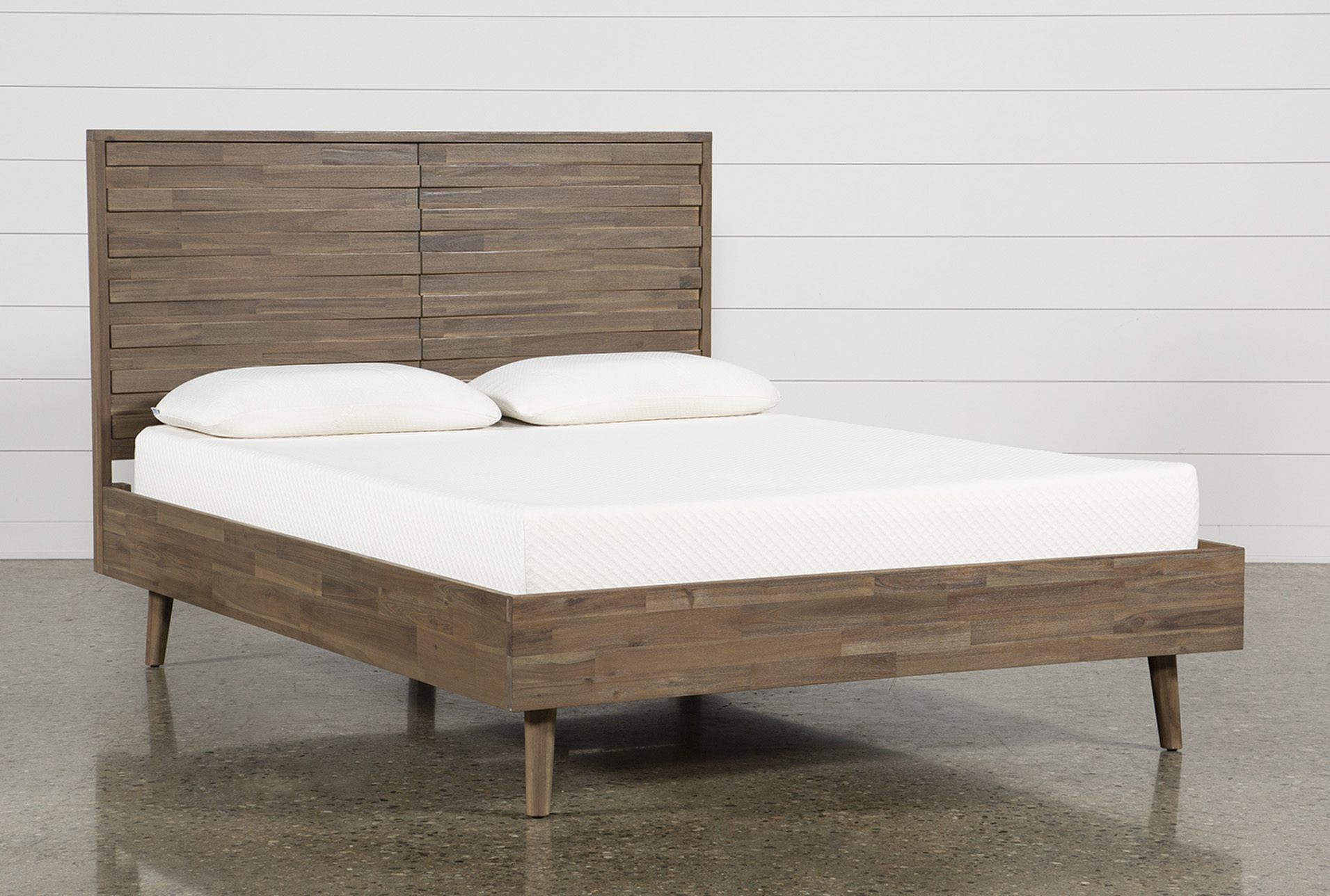 Picture of: Caleb California King Platform Bed Living Spaces
