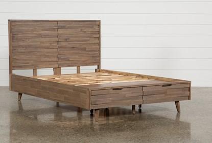 Caleb Eastern King Platform Bed With