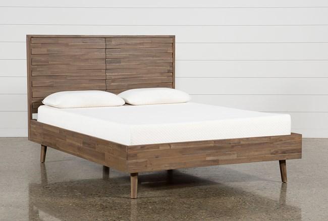 Caleb Eastern King Platform Bed - 360