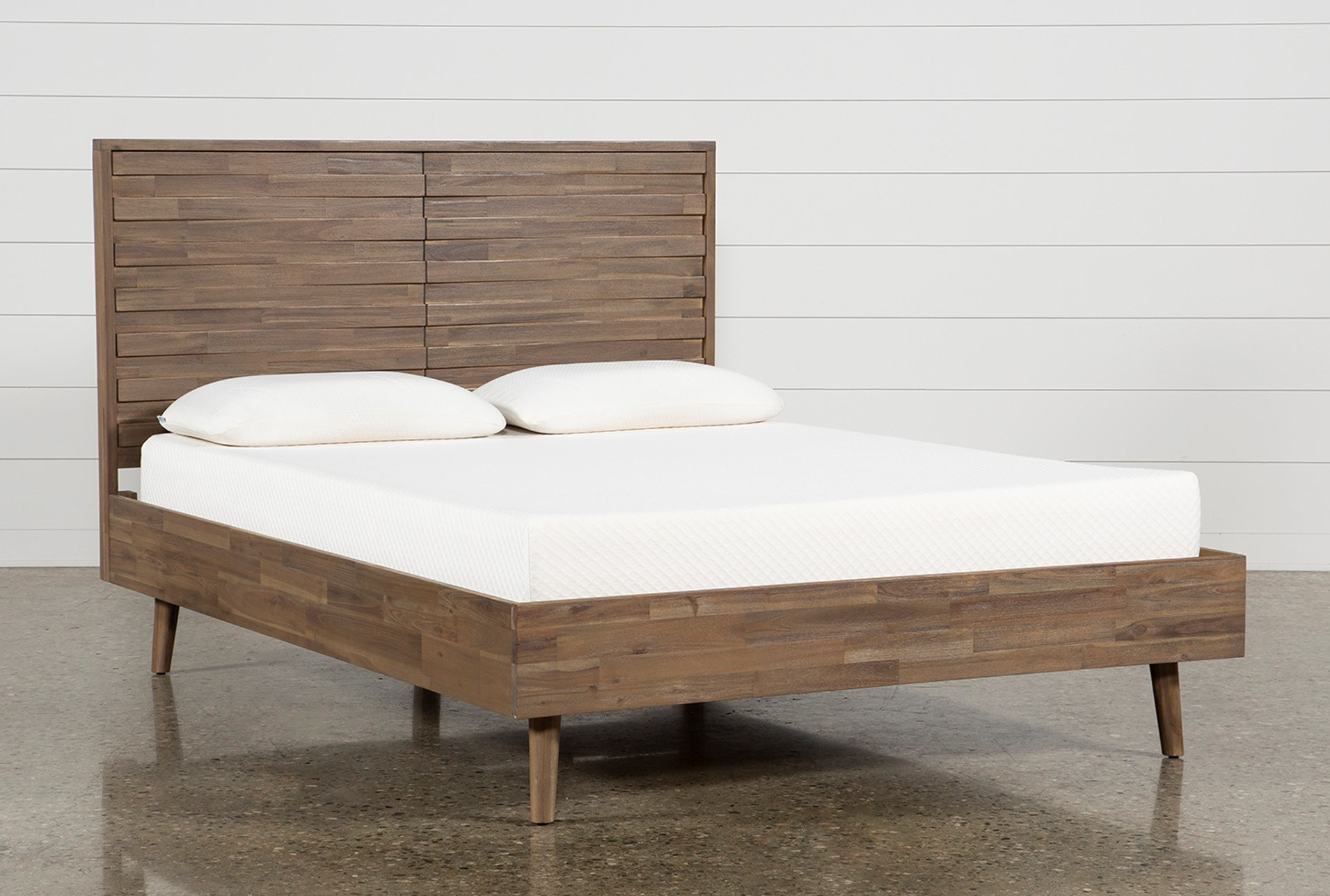 Caleb queen platform bed qty 1 has been successfully added to your cart