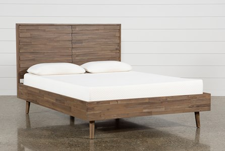 Caleb Queen Platform Bed