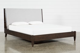 Stevens Eastern King Panel Bed With USB