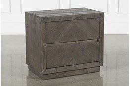 Harrison Charcoal Nightstand