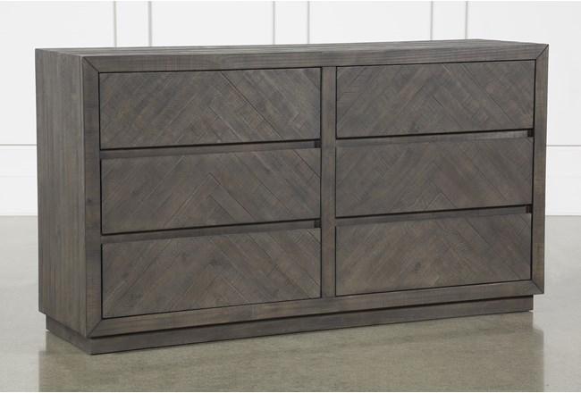 Harrison Charcoal Dresser - 360