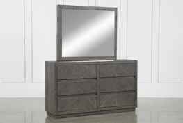 Harrison Charcoal Dresser and Mirror Set