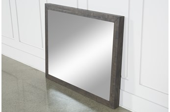 Harrison Charcoal Mirror