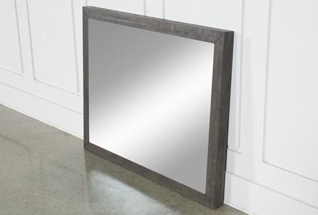 Harrison Charcoal Mirror - Main