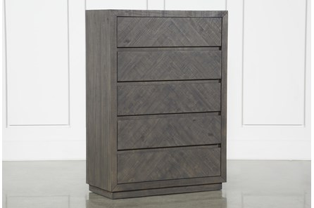 Harrison Charcoal Chest Of Drawers