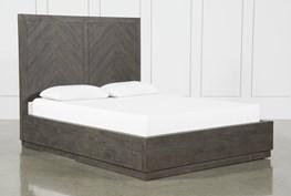 Harrison Charcoal Queen Platform Bed