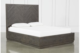 Harrison Charcoal Queen Platform Bed