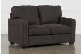 Morris Charcoal Twin Sofa Sleeper